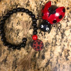 Ladybug garland / ladybug
